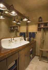 rustic bathroom lighting pinterest best bathroom decoration