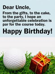 the unforgettable happy birthday cards golf themed happy birthday card for birthday greeting