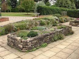 raised stone garden beds gardening ideas