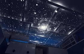 chambre ciel étoilé ciel étoilé lumineux dans une chambre d enfant