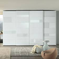 perfect white custom wardrobe designer with grey textured carpet