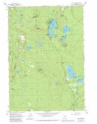 Crater Lake Oregon Map by Elk Lake Topographic Map Or Usgs Topo Quad 43121h7
