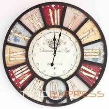 Large Shabby Chic Wall Clock by Shabby Chic Wall Clocks Shabby Chic Large Vintage Grand Hotel
