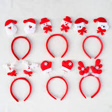 christmas hair accessories fashion christmas hair accessories santa claus snow men elk