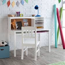 Kidkraft Pinboard Desk With Hutch And Chair Awesome Guidecraft Media Desk U Chair Set White Id Products Of