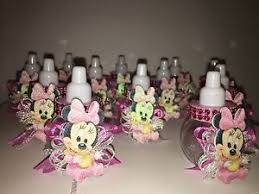 minnie mouse baby shower ideas 12 pink minnie mouse plastic fillable bottles baby shower favors