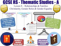 christianity gender roles gender equality u0026 sexism gcse rs