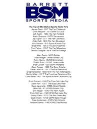105 7 the fan baltimore the top 20 major market sports radio pd s ppt video online download