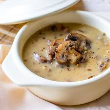 wild mushroom soup cook diary