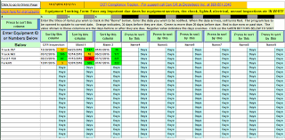 List Of Spreadsheet Software Trucking Management Software And Important Date Tracker Spreadsheet