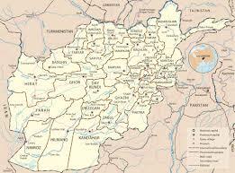 kabul map map of afghanistan capital kabul