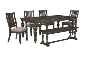 Outdoor Dining Set With Bench Townser 60