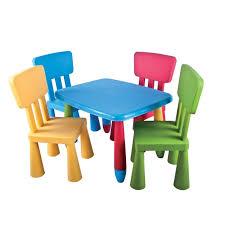 set de table et chaises enfant mamouth 5 pièces achat vente