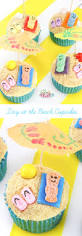 day at the beach cupcakes recipe just plum crazy