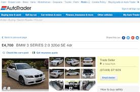 used bmw 3 series uk scamwarners com view topic bmw 3 series 2 0 320d se ls61hne
