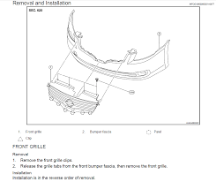 nissan altima 2013 grill how do you remove the grille on a 2008 altima i like to install