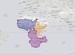 Geographical Map Of Usa The True Size Of The World Geographical