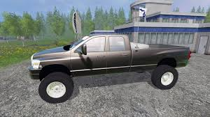 Dodge Ram 3500 Truck Tires - ram 3500 2007 wide stance v1 2 for farming simulator 2015