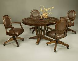 Dining Room Chairs With Rollers Glass Table Naples Bay Caster - Dining room chairs with rollers