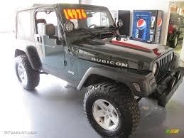 2004 shale green metallic jeep wrangler rubicon 4x4 33985808
