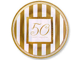 50th anniversary plates golden anniversary wishes 7 plate