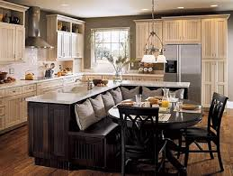 white bell l shade kitchen traditional kitchen features l shaped island with built in