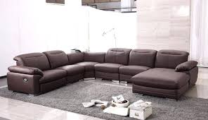 Sectional Sofa Reclining Leather Sectional Sofa With Recliner Electricnest Info