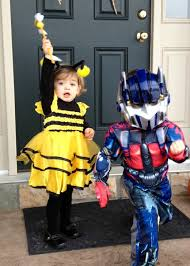 cute optimus prime and still cute but not so robotic bumble bee
