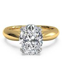 gold oval engagement rings oval engagement rings