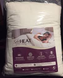 soft heat electric heated mattress pad review