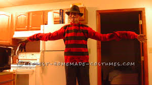 freddy krueger sweater spirit halloween coolest homemade freddy krueger costumes