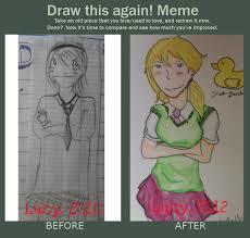 D D Memes - draw this again meme omfg by dd latte on deviantart