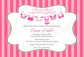 Size Invitation Card Bridal Lingerie Shower Invitations Kawaiitheo Com