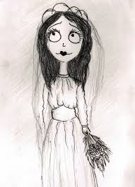 i illustrated old wedding photos in tim burton u0027s style bored panda