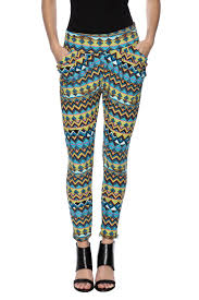fancy fans pattern yoga pants from arkansas by vintage glam and