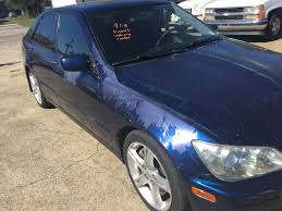 lexus is300 blue 2004 lexus is300 in pretty rough condition but one of the most