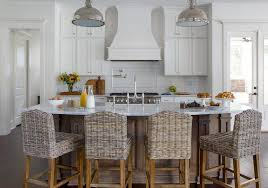 kitchen island counter stools curved kitchen island countertop with wicker counter stools