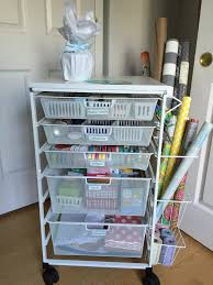 gift wrap cart organization vacaville organizer the
