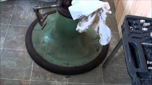 Old Barber Chairs For Sale South Africa Working On Koken Barber Chair Pump Youtube