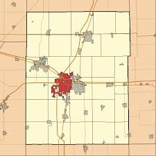 Illinois City Map File Map Highlighting City Of Champaign Township Champaign County