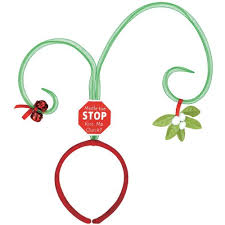 mistletoe headband christmas headbands webnuggetz