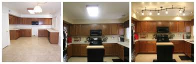how to replace track lighting replacing fluorescent light fixture in kitchen with track lighting