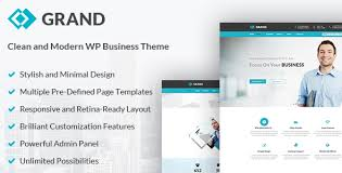 business u0026 corporate wordpress theme grand by gt3themes