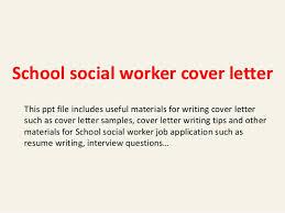 social work cover letter cover letter for social work new cover letter school social worker