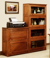 oak bookcases with glass doors mission style solid oak spindle bookcase