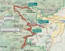 Rmnp Map Potential For More Bike Access In East Side Of Rmnp Mtbr Com