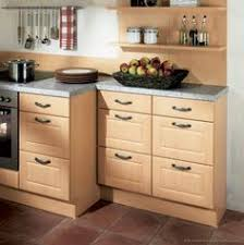 Light Oak Kitchen Cabinets Traditional Light Wood Kitchen Cabinets With Black Appliances