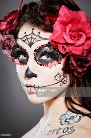 Day Of The Dead Mask Day Of The Dead Stock Photos And Pictures Getty Images