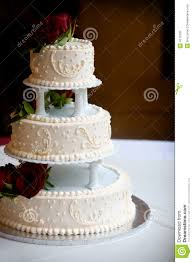 tiered wedding cakes wedding cake with three tiers stock photography image 4715232