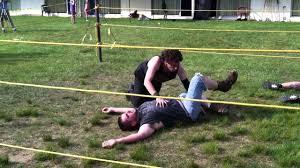 jeffrey u0027s backyard wrestling debut rmg pinterest